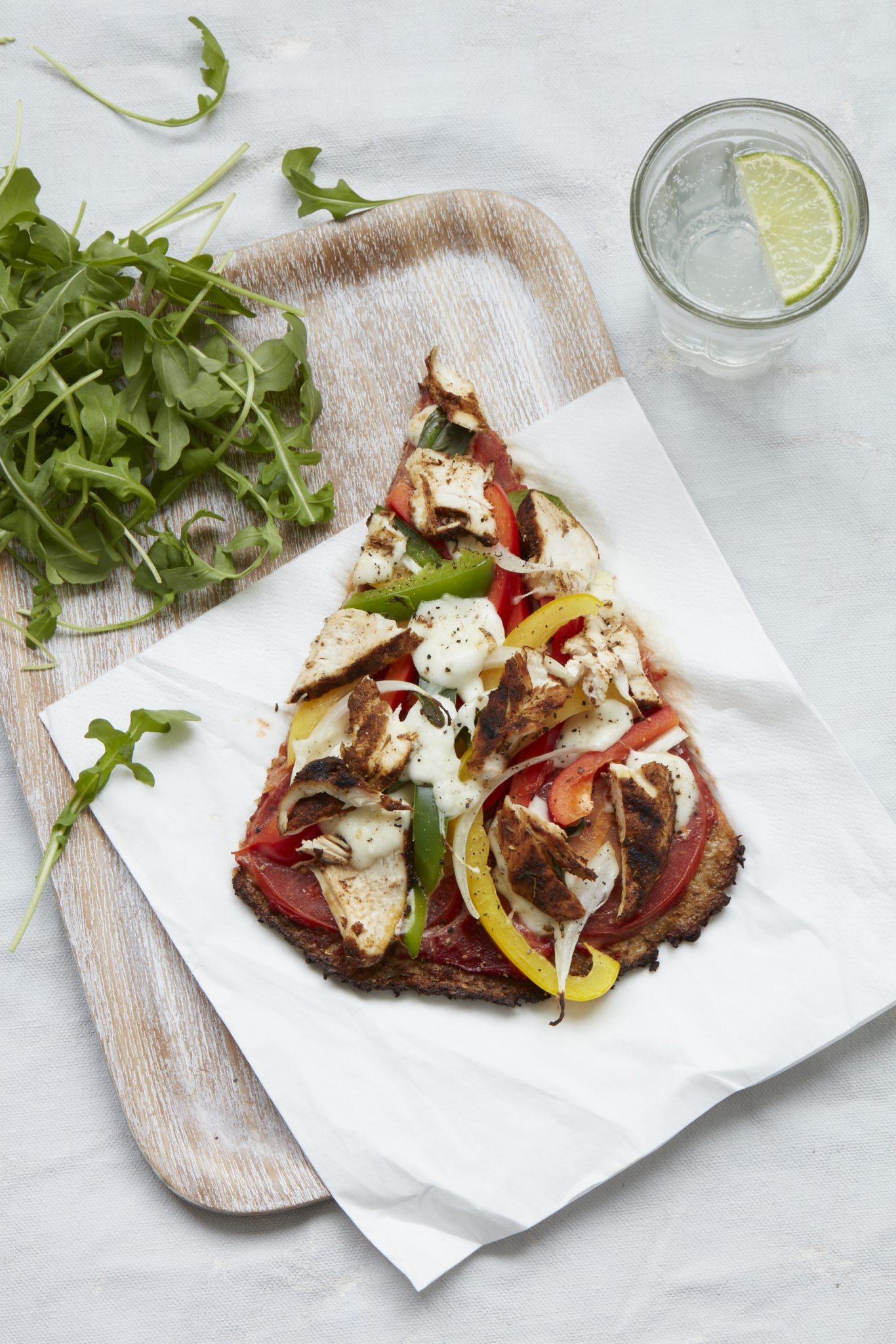 pizza bloemkool weekmenu